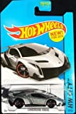 Hot Wheels - 2014 HW City 37/250 - Lamborghini Veneno (Silver)