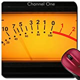 Liili Suqare Mousepad 8x8 Inch Mouse Pads/Mat A vu meter on channel one on an audio compressor Photo 7142441