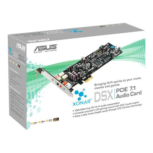 ASUS XONAR DSX AUDIO CARDS DRIVER FOR WINDOWS 7