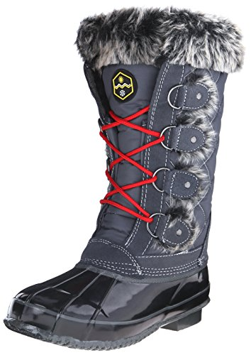 Jandice Khombu KH Grey Weather Boot Cold Women's 55xq74rnS