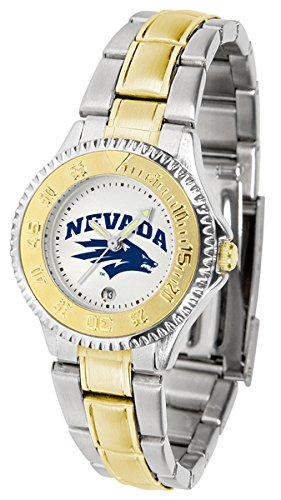 Nevada Wolf Pack Competitor Two-Tone Women's Watch