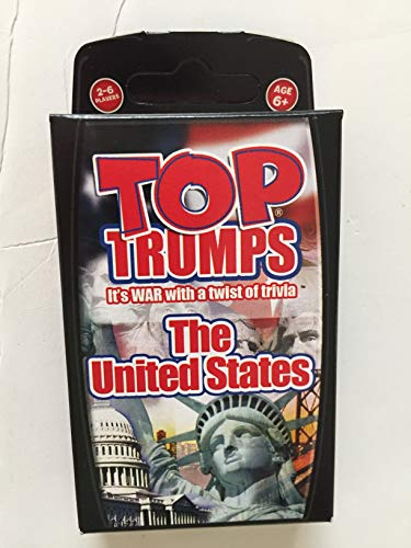 Top Trumps card game - United States