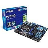 Asus P7P55D ATX Mainboard (LGA 1156, Intel P55, 6.4 GT/s FSB)