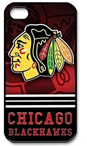 nhl Chicago Blackhawks iPhone 6 (4.7 inch) Case Cover Apple Plastic Shell Hard Case Cover Protector Gift Idea