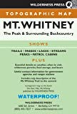 MAP Mt. Whitney Topo (Wilderness Press Maps)