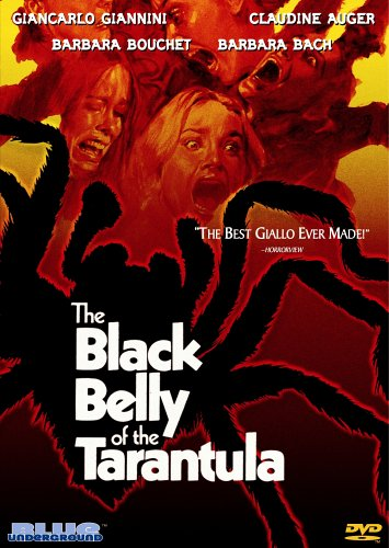 DVD : The Black Belly Of The Tarantula (Subtitled, Widescreen, Dolby)