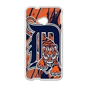 DAZHAHUI Detroit Tigers logo Fashion Comstom Plastic case cover For HTC One M7 wangjiang maoyi by lolosakes