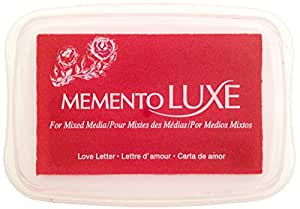 Tsukineko Memento Luxe Mixed Media Inkpad, Love Letter