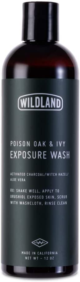 Wildland Poison Oak & Poison Ivy WASH | Use After Exposure to Completely Remove Urushiol, The Source of Rash and Itch| Smells and Feels Great | The Best Poison Oak/Ivy Treatment | 12oz