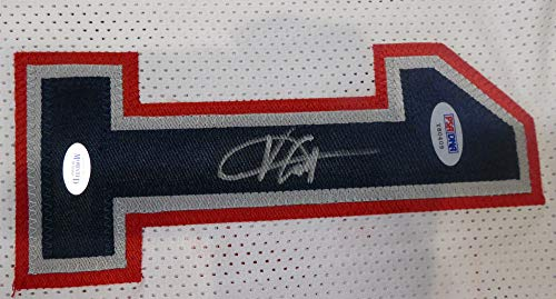lowest price fa77d 43508 New Jersey Nets Vince Carter Autographed White Jersey PSA ...