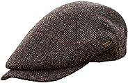 Mucros Weavers Men's Quiet Man Cap -Irish Tweed Flat Cap - B