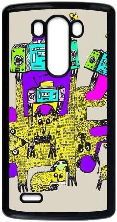 LG G3 teléfono móvil Negro antena de gatos LSK_272181: Amazon ...