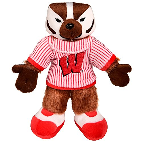 Wisconsin Mascot Plush - Bucky (Plush Ncaa Football)