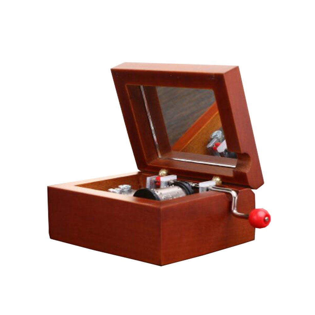 George Jimmy Classical Music Box Creative Living Room Decoration Marriage Birthday Silver