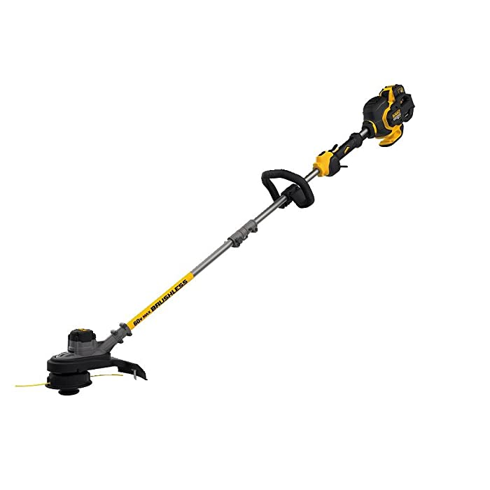 "DEWALT DCST970X1 FLEXVOLT 60V MAX Lithium-Ion Brushless 15"" String Trimmer, Two Speed (3.0AH)"