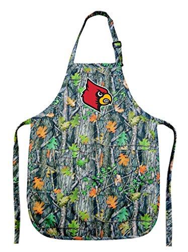 Broad Bay University of Louisville Apron CAMO Louisville Cardinals Gift for Men Women Grilling
