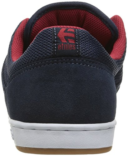 Chaussure Etnies Marana - Plan B Collaboration Bleu Fonce-Rouge-Blanc