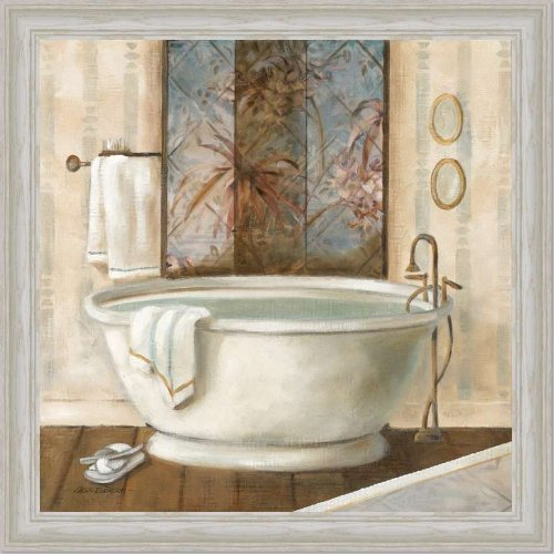 Amazon.com: Zen Bathroom Decor Spa Bath Decor I Art Print Framed: Posters U0026  Prints
