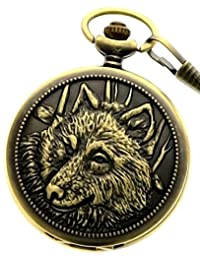 Alchemist Fullmetal Pocket Watch Steel Watch with Chain