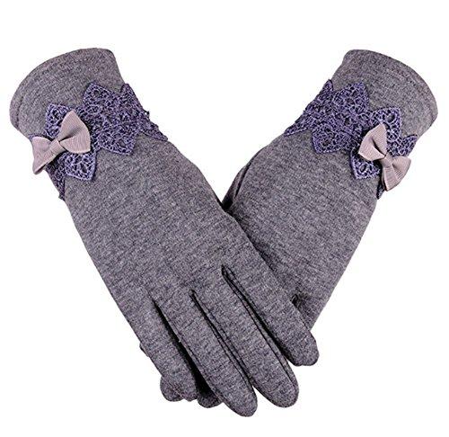素子人種パラメータCandy 手袋 レディース スマホ手袋 グローブ 裏起毛