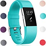 GEAK Fitbit Charge 2 Replacement Bands,Small,Teal