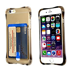 iPhone 6S 6 , iPhone 6S Soft Case, EZstation (TM) iPhone 6, Colorful Soft Bumper Slim Clear Transparent See-Thru Back Cover Case, Snap-On Silicone Back Case Cover Skin for Apple iPhone 6S or 6 (GREY)
