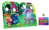 Fan Pack - Trolls Can't Stop The Feeling Child Size Cardboard Cutout Stand-in - Twin Pack - Includes 8x10 Star Photo