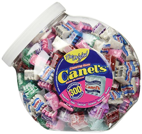 Canel's The Original Chewing Gum 6 Flavors Assortment 300 Count Tub NET WT 3 Lbs 4.91 OZ