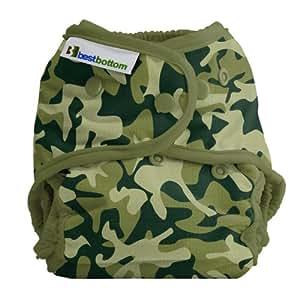 Amazon Com Best Bottom Cloth Diaper Shell Snap Camo Baby