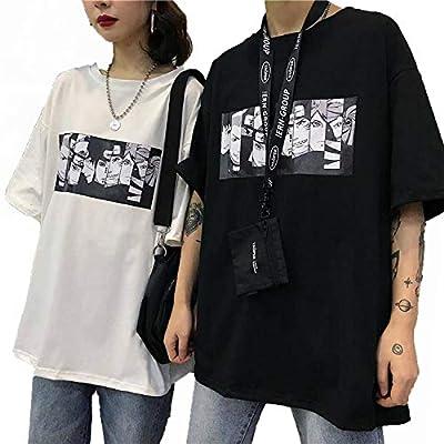 lioneh Cool Harajuku Naruto Tshirt Men Summer Fashion Amine T Shirt Casual Cartoon