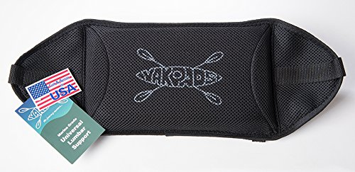 Yakpads Lumbar Support Pad by For Kayaks, Portable Seat Cushion For Outdoor Watersports and Recreation - Cascade Creek