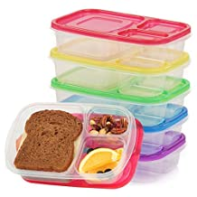 SPECIAL PROMO WONT LAST LONG GET YOUR NOW !!! Global3xchange -Keep food fresh in 7 * Containers all different colors ... 3-Compartment Reusable Bento Lunch Box for Kids & Adults , Multi-Color, Set of 7 Containers for 7 days of a week *** AMAZING DEAL*** please kindly give your honest review for this purchased item>>> Thank you very much all in advance .