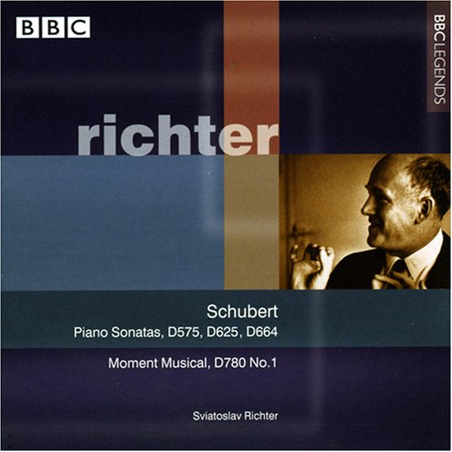 Schubert: Piano Sonatas Nos. 9, 11 & 13, d.575,625,664 / Moment Musical, d.780:1 by Alliance