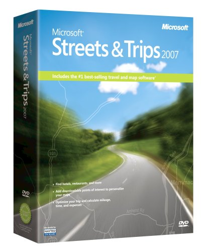 Buy Microsoft Streets and Trips 2007 [OLD VERSION]
