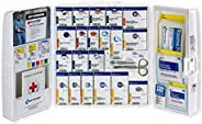 First Aid Only 50 Person Large Plastic SmartCompliance First Aid Cabinet with Medications , OSHA (1000-FAE-010