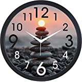 7 Stones Analog Wall Clock by KK Craft