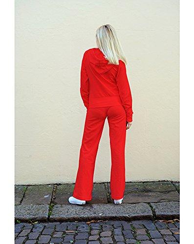 Exceptional Products - Sudadera con capucha - para mujer Rojo