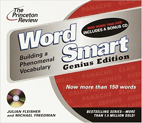 Amazon the princeton review word smart genius edition cd the princeton review word smart genius edition cd building a phenomenal vocabulary the princeton review on audio abridged edition fandeluxe Image collections