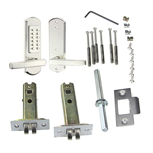 New Mechanical Door Lock Digital Code Keyless Keypad