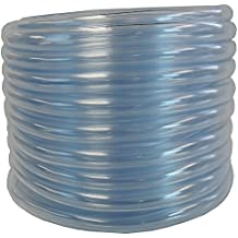 "Maxx Flex 1403012050 HydroMaxx Flexible PVC Clear Vinyl Tubing. BPA Free and Non Toxic, 1/2"" ID X 5/8"" OD X 50'"