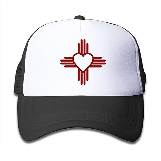 b5efc18b Youth Toddler Baseball Hat,New Mexico Sun Zia Meshback Cap Adjustable  Trucker Hat