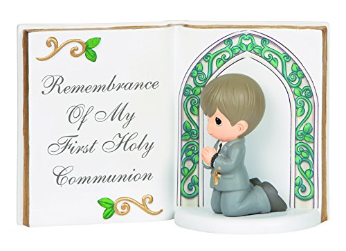 Precious Moments Boy With Bible Figurine, 143405 -