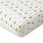 Levtex Home Baby Zambezi Collection Print Fitted Crib Sheet, Multi