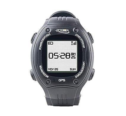 Posma W2 Reloj Deportivo para correr con navegación GPS, Antena de 2,4 GHz