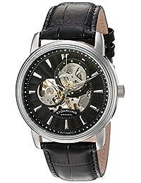 Stuhrling Original Men's 1076.33151 Classic Delphi Acheron Automatic Skeleton Black Watch