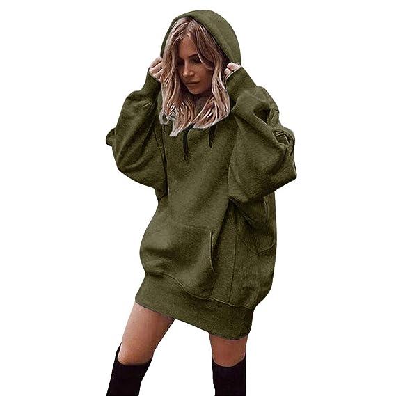 Hoodies Capuche À Longues Pulls Yiylunneo Manches Femme Sweatshirt EHIYW9D2