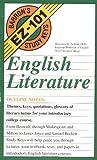 English Literature (Barron's EZ-101 Study Keys (Paperback))
