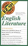 img - for English Literature (EZ-101 Study Keys) book / textbook / text book