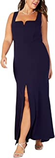 product image for Betsy & Adam Womens Plus Sleeveless Evening Formal Dress