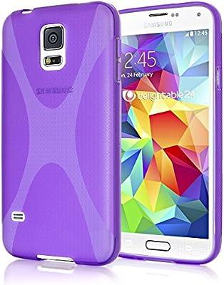 NALIA Funda Carcasa para Samsung Galaxy S5 Mini, Protectora Movil ...